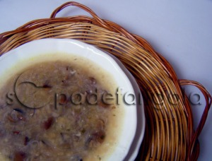 Sopa de morros d'ovella(Fredolics)