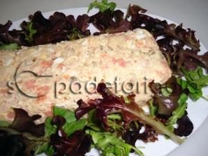 Pastís de salmó i tonyina