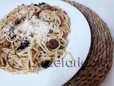 Espaguetis siciliana-sf